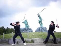 【踊ってみたんすけれども】エグスプロージョン 巌流島×進撃の巨人OP「紅蓮の弓矢」
